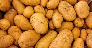 Grimme aardappelen